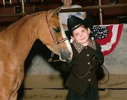 2007 National Shetland Congress - 3rd Place Clasic Youth Showmanship Exhibitor Age 7 & Younger